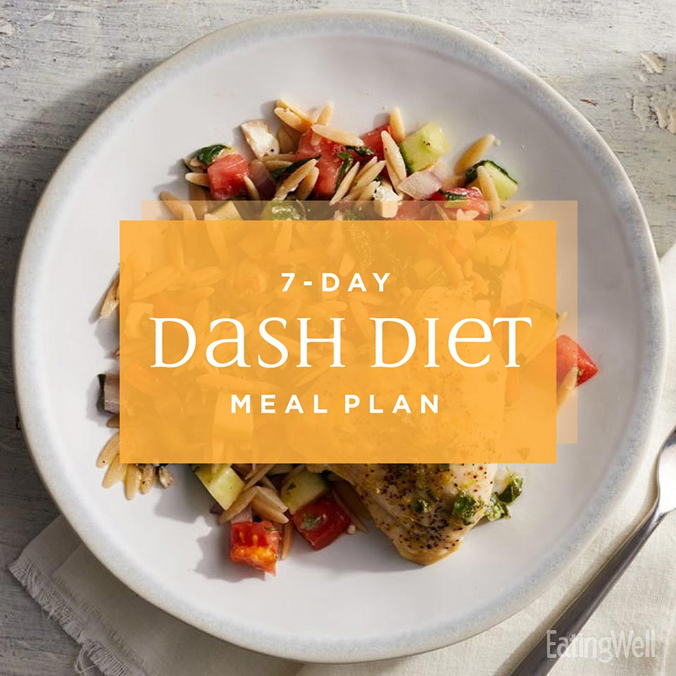 7 Day Dash Diet Menu Eatingwell