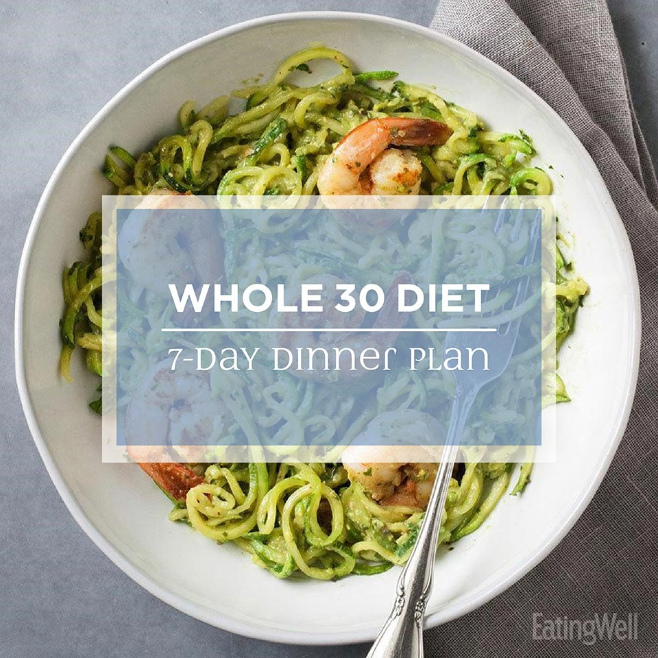 Whole30 Diet Meal Plan