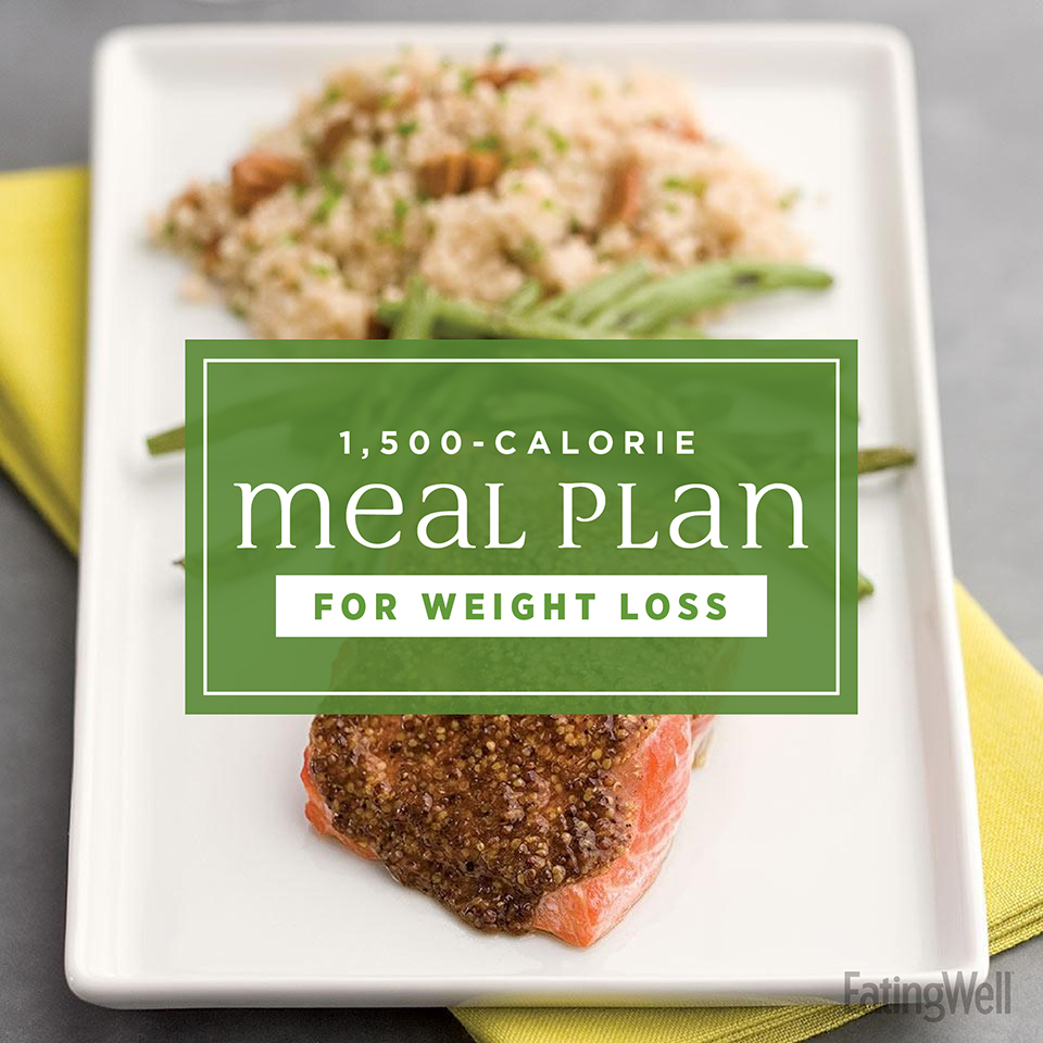 7 Day Diet Meal Plan To Lose Weight 1 500 Calories Eatingwell