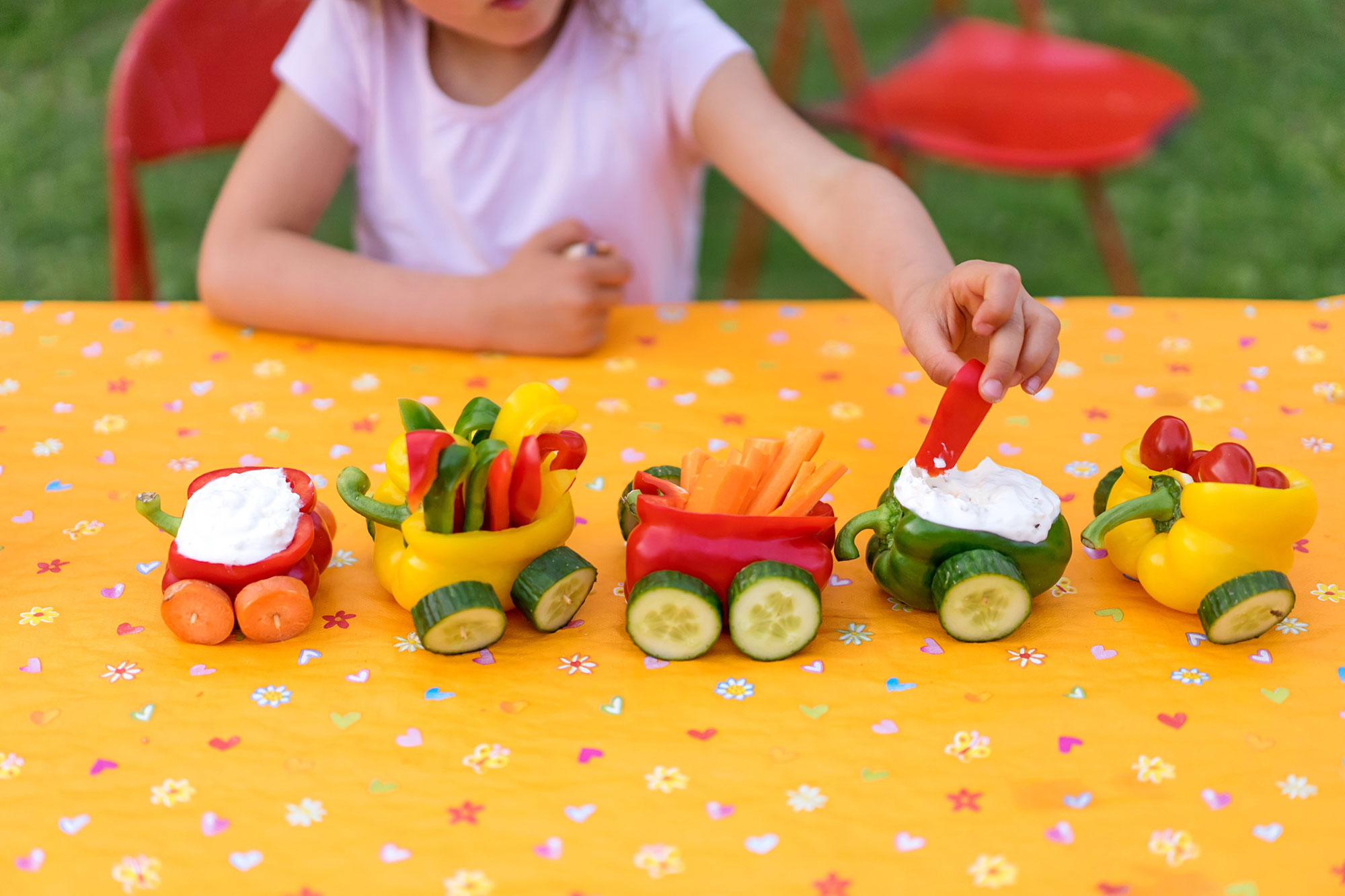 Healthy kids party food ideas