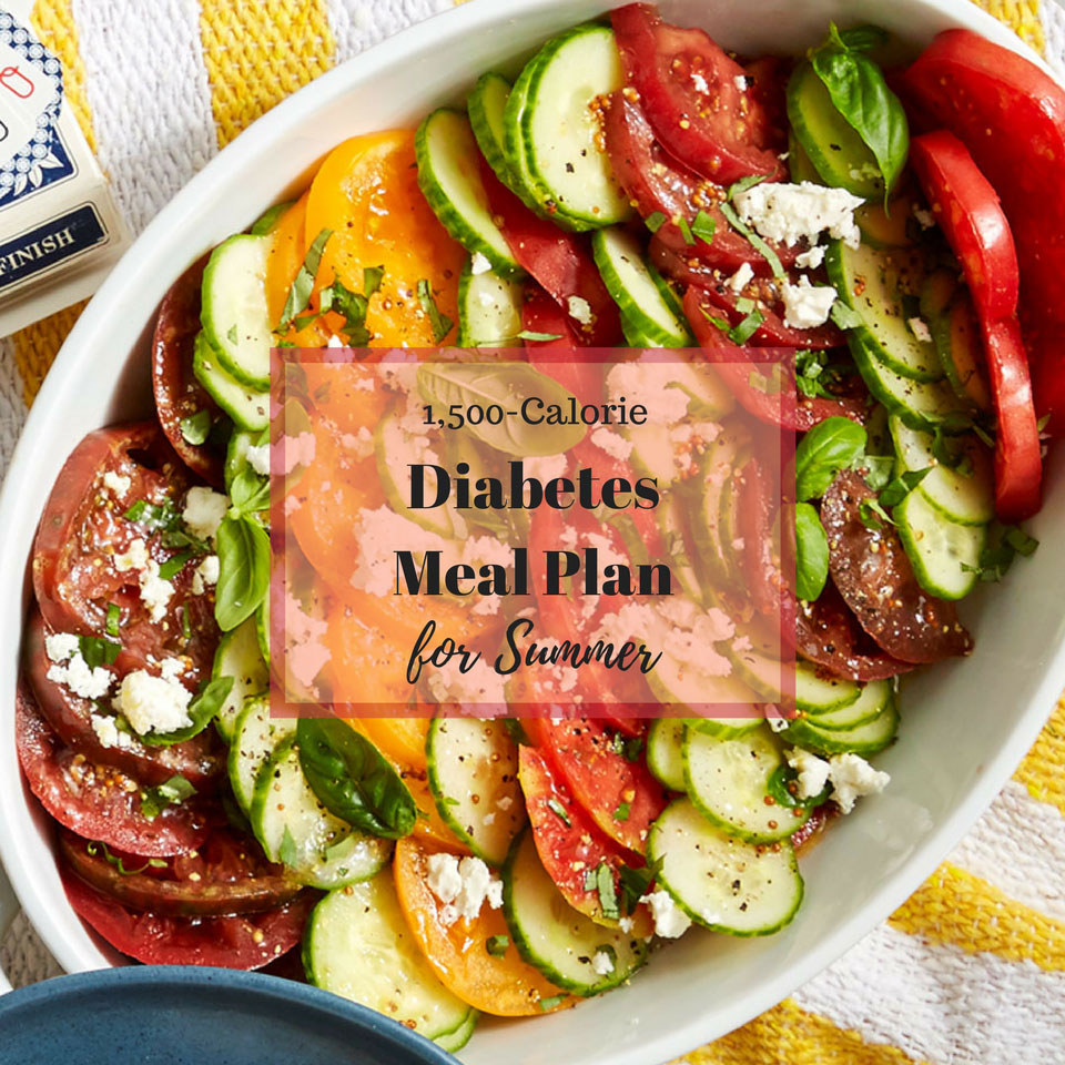 5-Day Diabetes Meal Plan for Summer