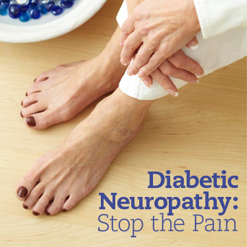 How to Stop the Pain from Diabetes Nerve Damage