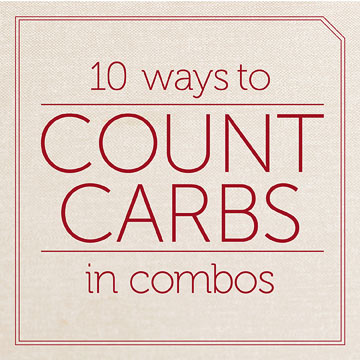 Easy Ways to Count Carbs in Pizza and Other Combination Foods On-The-Go