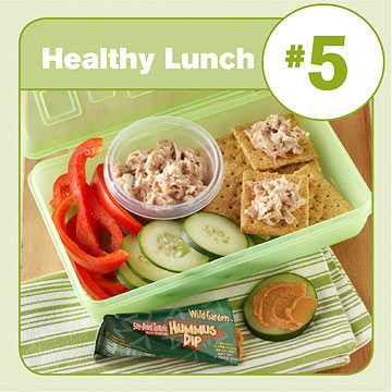 Healthy Lunch #5: Tuna Salad & Crackers